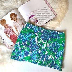 Lilly Pulitzer ❤️ Grasshopper Print Mini Skirt